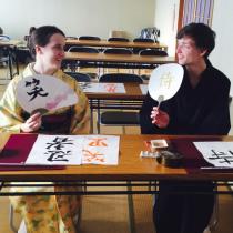 日本の文化体験にオススメ!外国人向け書道体験