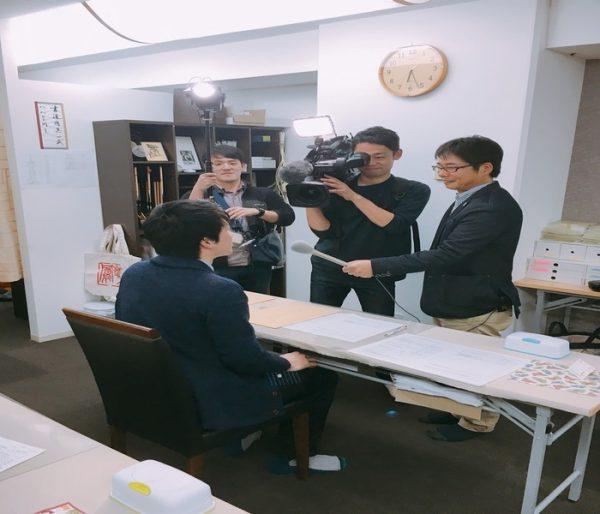 NHK『ほっとニュース北海道』生放送